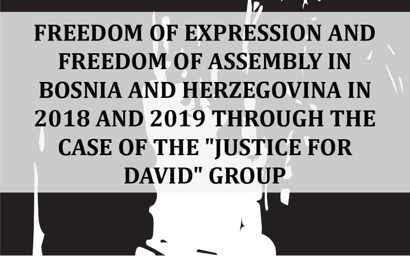 Freedom of Assembly... and Justice for David group BCE